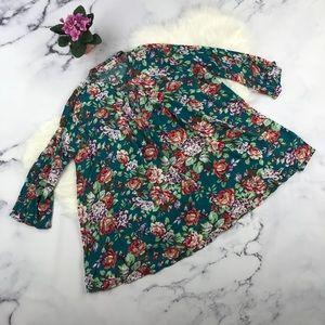 Floral Umgee keyhole tunic